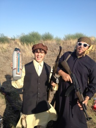 Me and Devin Salerno as terrorists