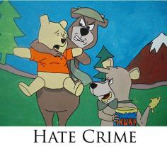 Bear on Bear hate crime.