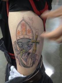 alien pope
