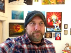 My art now hangs at the Six Days Gallery in the Heart othe Alberta Arts District in Portland, Oregon