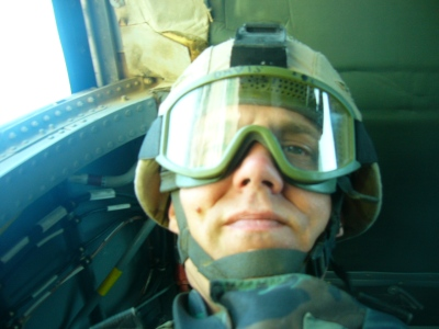SSG Davis selfie in Blackhawk.