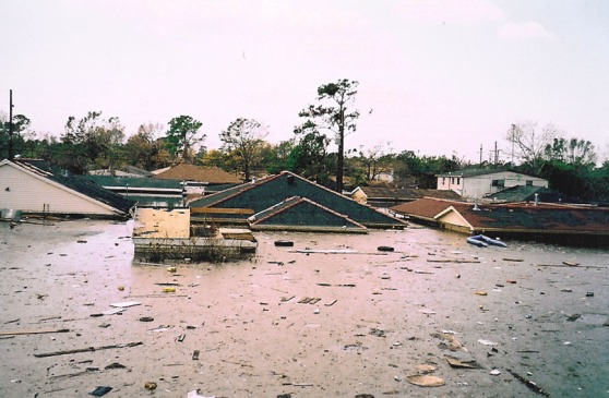 New Orleans right after Katrina.