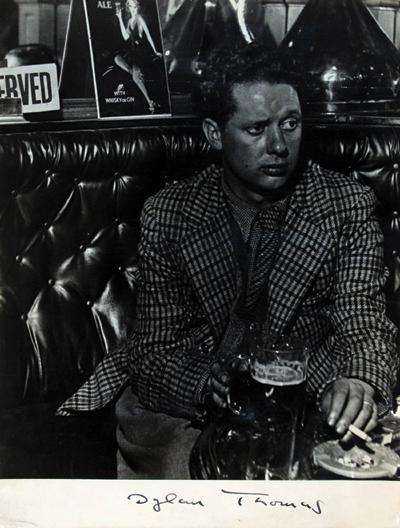 Bill Brandt Dylan Thomas, 1941