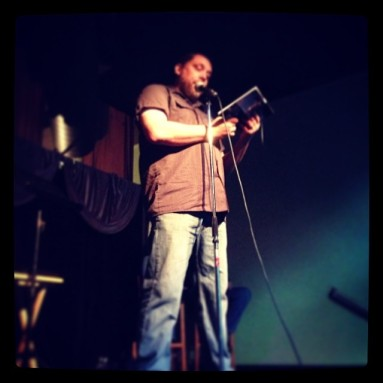 Reading at Burnt Tongue last week