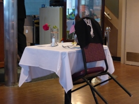 The POW/MIA table