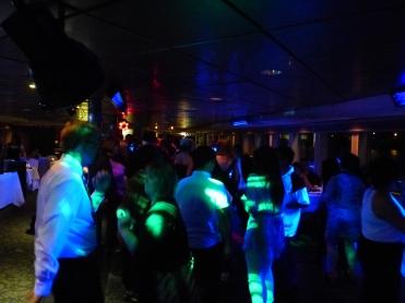 Dance party on second floor