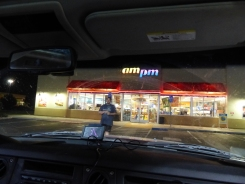 first gas stop
