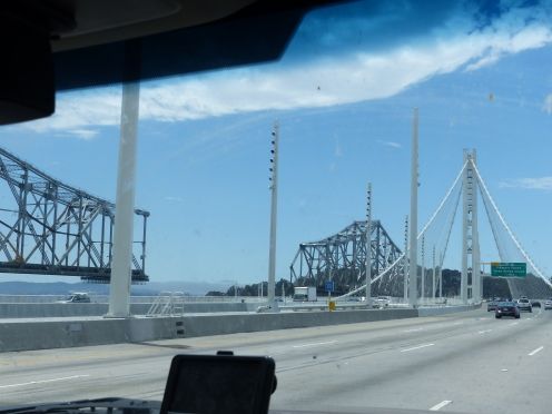 There's a new Bay Bridge. They're selling the old one to China