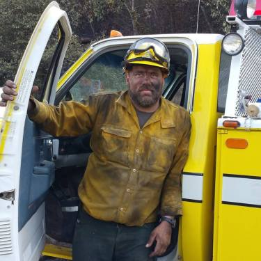 Firefighting in the Gorge, Oregon