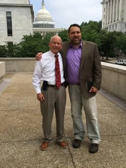 Sean and Congressman Peter DeFazio