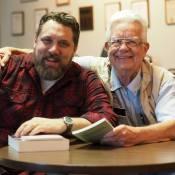 Sean with former Portland Mayor Bud Clark