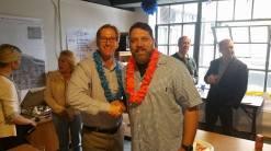 Sean with Portland Mayor Ted Wheeler