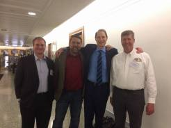 Sean with Senator Ron Wyden
