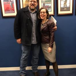 Sean with Governor Kate Brown