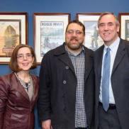 Sean with Gov Brown and Senator Merkley