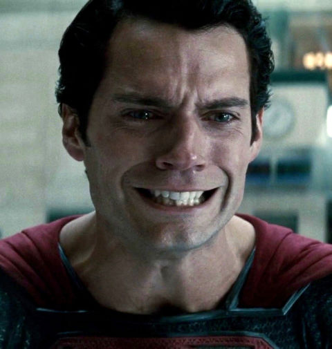 superman crying